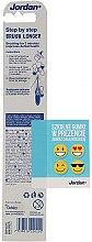 Periuță de dinți Step 2 (3-5 ani), moale - Jordan — Imagine N2