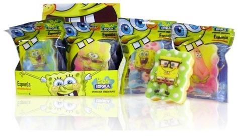 "Burete de baie, pentru copii ""SpongeBob"" 7 - Suavipiel Sponge Bob Bath Sponge — Imagine N2"