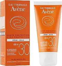 Parfumuri și produse cosmetice Cremă de protecție solară - Avene Sun High Protection Cream SPF 30