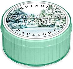 Parfumuri și produse cosmetice Lumânare de ceai - Kringle Candle Snow Capped Fraser Daylight