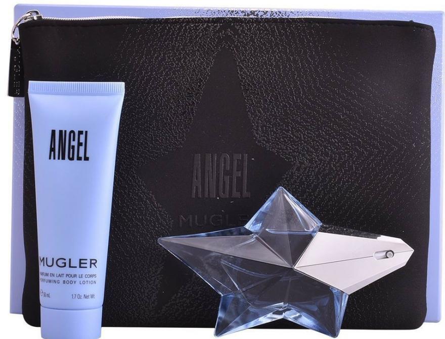 Mugler Angel - Set (edp/25ml + b/lot/50ml + bag) — Imagine N1