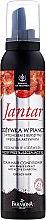 Parfumuri și produse cosmetice Spumă pentru păr gras, cu cărbune activ și extract de chihlimbar - Farmona Jantar