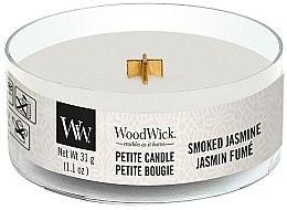 Parfumuri și produse cosmetice Lumânare aromată în suport de sticlă - Woodwick Petite Candle Smoked Jasmine