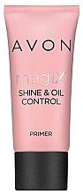 Parfumuri și produse cosmetice Bază matifiantă pentru machiaj - Avon Magix Shine & Oil Control Primer
