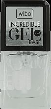 Parfumuri și produse cosmetice Bază pentru ojă - Wibo Incredible Gel Base