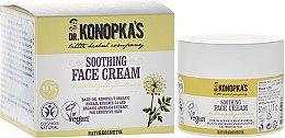 Parfumuri și produse cosmetice Cremă calmantă pentru față - Dr. Konopka's Soothing Face Cream