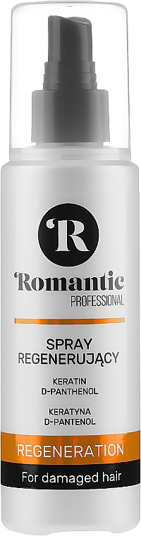 Spray regenerant pentru păr - Romantic Professional