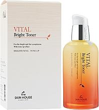 Parfumuri și produse cosmetice Toner pentru un ten uniform - The Skin House Vital Bright Toner
