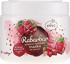 Parfumuri și produse cosmetice Mască cu extract de rubarbă, fructe și unt de Shea pentru păr - Ovoc Rabarbar Mask