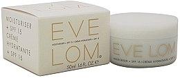 Parfumuri și produse cosmetice Cremă hidratantă pentru față, SPF15 - Eve Lom Moisturiser Cream + SPF15