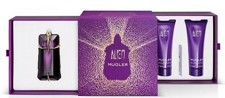 Mugler Alien - Set (edp/60ml + b/lot/100ml + sh/gel/100ml) — Imagine N1