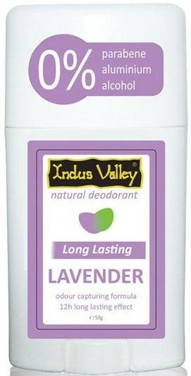 "Deodorant-stick ""Lavandă"" - Indus Valley Lavender Deodorant Stick — Imagine N1"