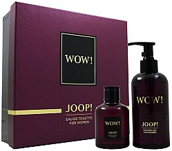 Parfumuri și produse cosmetice Joop! Wow! For Women Gift Set - Set (edt/60ml+sh/g/250ml)