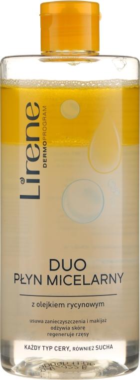 Apă micelară cu ulei de ricin - Lirene Dermoprogram Micellar Water