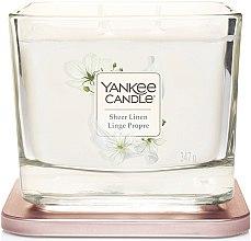 Parfumuri și produse cosmetice Lumânare parfumată - Yankee Candle Elevation Sheer Linen