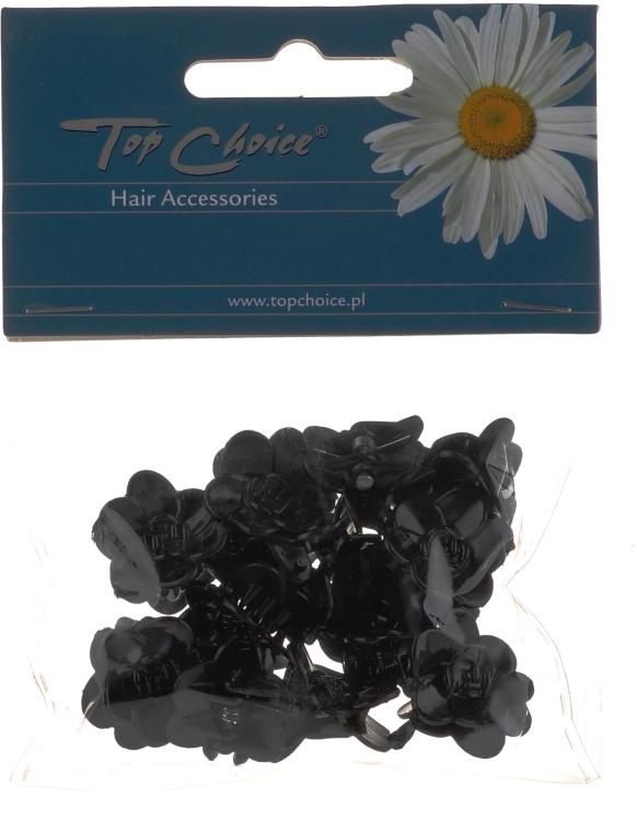 Agrafe de păr, 25327, negre - Top Choice — Imagine N1