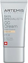 Parfumuri și produse cosmetice CC cremă - Artemis of Switzerland Skin Specialists CC Cream