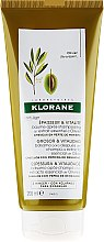 Balsam pentru păr - Klorane Thickness & Vitality Conditioner With Essential Olive Extract — Imagine N1