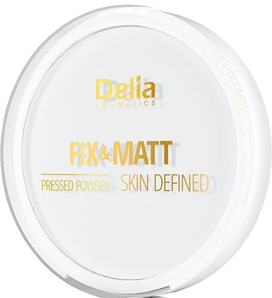 Pudră compactă de față - Delia Fix & Matt Skin Defined — Imagine N1