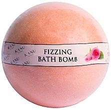 """Parfumuri și produse cosmetice Bombă de baie """"Trandafir"""" - Kanu Nature Fizzing Bath Bomb Rose"""