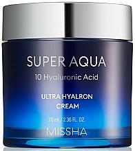 Parfumuri și produse cosmetice Cremă hidratantă de față - Missha Super Aqua Ultra Hyalron Cream