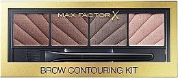 Parfumuri și produse cosmetice Fard pentru sprâncene în 4 nuanțe - Max Factor Brow Contouring Powder Kit