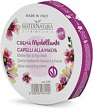 Parfumuri și produse cosmetice Cremă pentru păr - MaterNatura Styling Cream With Mallow