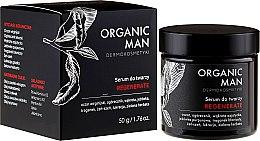 Ser regenerant pentru față - Organic Life Dermocosmetics Man — Imagine N1