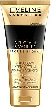 Parfumuri și produse cosmetice Cremă-ser pentru mâini și unghii - Eveline Cosmetics Spa Professional Argan&Vanilla