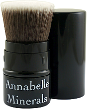 Parfumuri și produse cosmetice Pensulă pentru pudră, bronzer, fard de obraz - Annabelle Minerals Flat Top