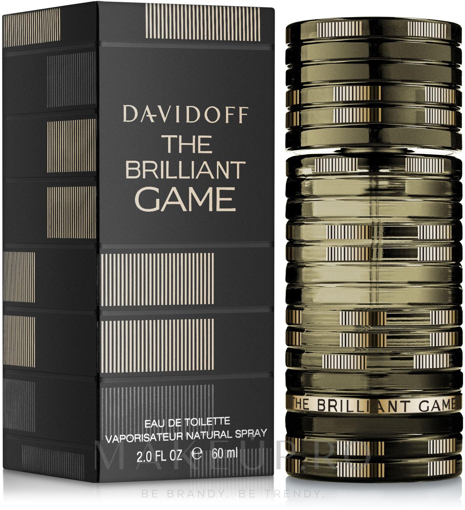 Davidoff The Brilliant Game - Apă de toaletă — Imagine 100 ml