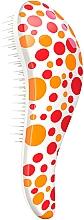 Parfumuri și produse cosmetice Perie de păr, în puncte roșii - Detangler Detangling Red Point Brush