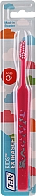 Parfumuri și produse cosmetice Periuță de dinți pentru copii, 3+ ani, roz - TePe Kids Extra Soft