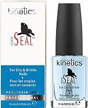"""Parfumuri și produse cosmetice Tratament pentru unghiile uscate și fragile """"Focă"""" - Kinetics Nano Seal Nail Treatment"""