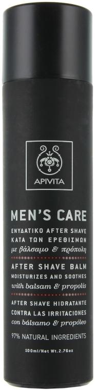 Balsam cu hypericum și propolis după ras - Apivita Men Men's Care After Shave Balm With Hypericum & Propolis — Imagine N2
