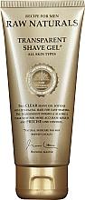 Parfumuri și produse cosmetice Gel transparent de ras - Recipe For Men RAW Naturals Transparent Shave Gel
