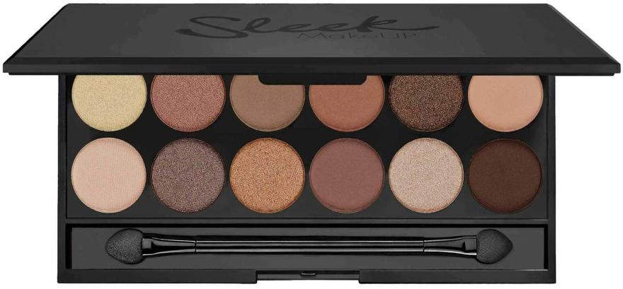 Paletă farduri de ochi - Sleek MakeUP i-Divine Mineral Based Eyeshadow Palette A New Day