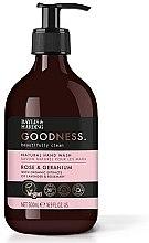Parfumuri și produse cosmetice Săpun lichid de mâini - Baylis & Harding Goodness Rose & Geranium Natural Hand Wash