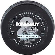 Parfumuri și produse cosmetice Ceară pentru mustăți - Toni & Guy Men Styling Moustache Wax