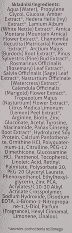 Balsam regenerant pentru scalp și păr deteriorat cu extract de chihlimbar - Farmona Jantar Scalp and Hair Conditioner With Amber Extract — Imagine N2