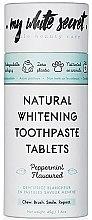 Parfumuri și produse cosmetice Pastă de dinți cu efect de înălbire - My White Secret Natural Whitening Toothpaste Tablets