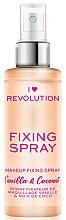 Parfumuri și produse cosmetice Fixator de machiaj - I Heart Revolution Fixing Spray Vanilla & Coconut