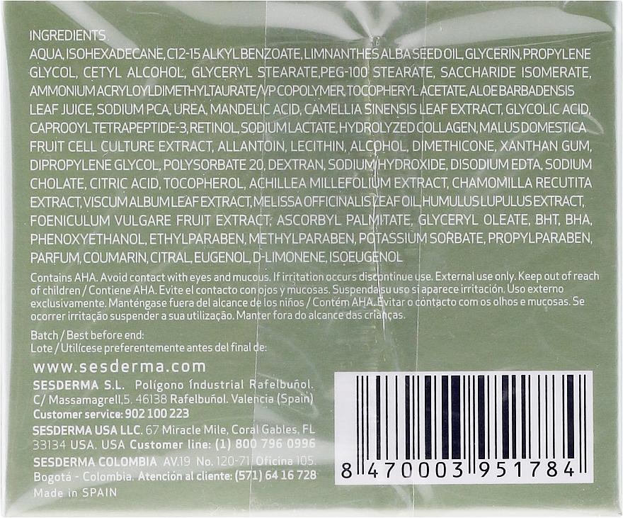 Cremă hidratantă cu acid mandelic - SesDerma Laboratories Mandelac Moisturizing Cream — Imagine N2