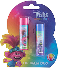 Parfumuri și produse cosmetice Set - Admiranda Trolls World Tour Duo Kit (lip/balm/4.2gx2)