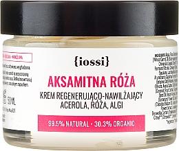 """Parfumuri și produse cosmetice Cremă regenerantă pentru față """"Trandafir"""" - Iossi Regenerating Cream"""