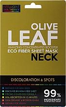 Parfumuri și produse cosmetice Mască-express pentru gât - Beauty Face IST Booster Neck Mask Olive Leaf