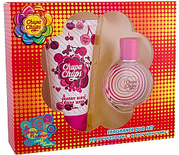 Parfumuri și produse cosmetice Chupa Chups Cherry Burst - Set (edt/50ml + sg/gel/150ml)