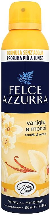Odorizant pentru casă - Felce Azzurra Vaniglia e Monoi Spray