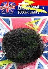 Parfumuri și produse cosmetice Burete pentru coc, negru - Ronney Professional Bun Maker