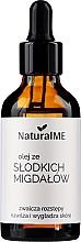 Parfumuri și produse cosmetice Ulei de migdale dulci, cu picurător - NaturalME